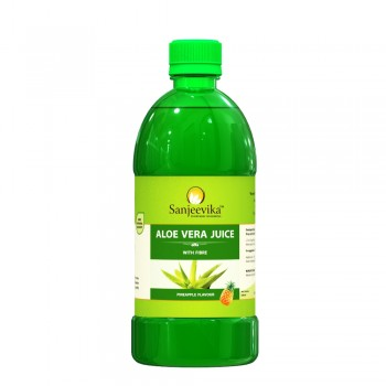 Aloevera Juice Pine Apple Flav 600ml