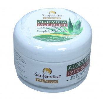 Aloevera Face Scrub 200gm